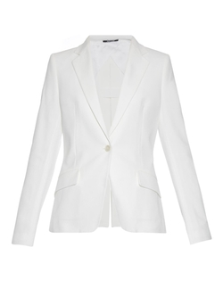 Maison Margiela - Slit-Back Panama Cotton Blazer