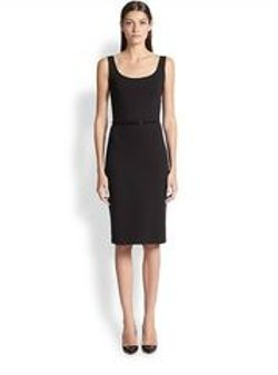 Max Mara - Belted Jersey Dress