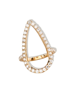Lana  - Fatale Diamond Crush Ring