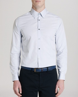 Ted Baker  - Gudpins Dobby Spotted Button Down Shirt