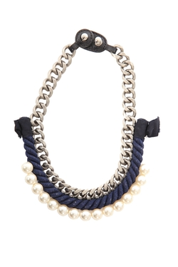 3.1 Phillip Lim  - Rope/Pearl Necklace