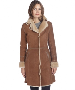 Jekel - Shearling Leather Trimmed