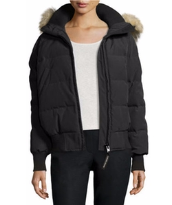 Canada Goose - Savona Hooded Quilted Bomber Jacket