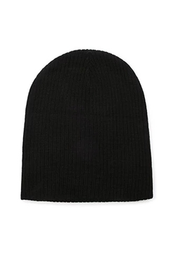 Forever 21 - Ribbed Fold-Over Beanie