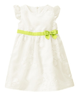 Gymboree - Floral Embroidered Organza Dress