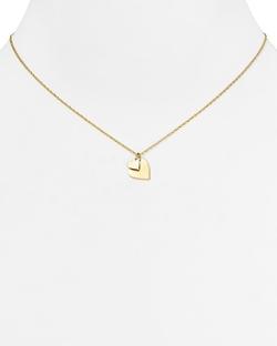 Jennifer Zeuner  - Mattea Mini Double Heart Necklace