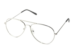 Qlook - Clear Lens Aviator Glasses