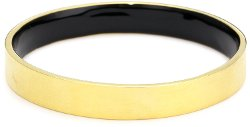Dean Davidson - Inner Beauty Gold with Black Enamel Inner Beauty Bangle Bracelet