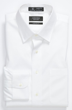 Nordstrom  - Wrinkle Free Traditional Fit Dress Shirt