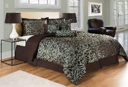 Jacquard Comforter Bedding Set - Regal Comforter Queen Bed