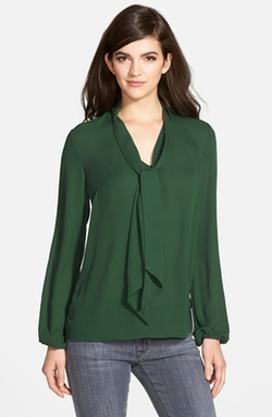 Bailey 44 - Long Sleeve Tie Neck Blouse