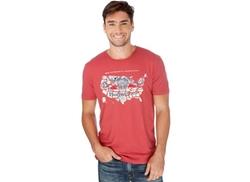 Lucky Brand  - Budweiser America Retro Logo T-Shirt