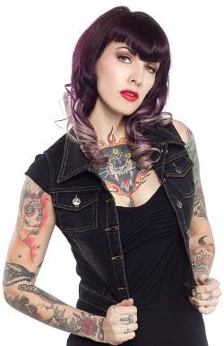 Sourpuss  - Doomed Dame Vest