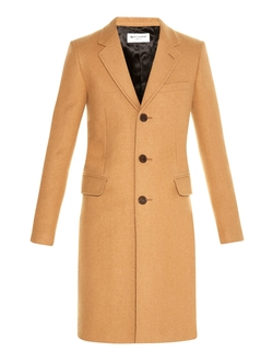 Saint Laurent - Chesterfield Camel-Hair Overcoat