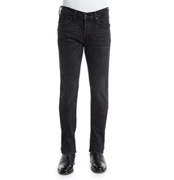 Tom Ford  - Slim-Fit Black Selvedge Denim Jeans