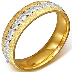 "The Ring Master Shop - ""Gold Spark"" Ring"
