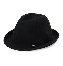 Block Headwear  - Knit Cotton Fedora Hat