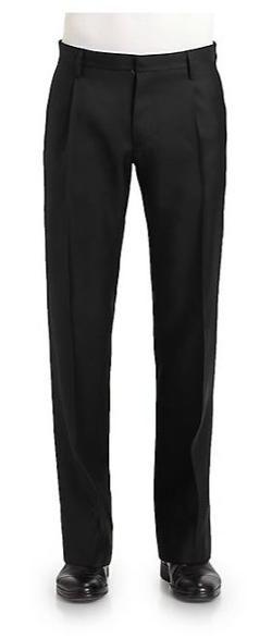 Dsquared  - Jazz Pleated Wool/Silk Pants