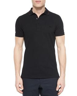 Burberry London - Tipped Pique Polo Shirt
