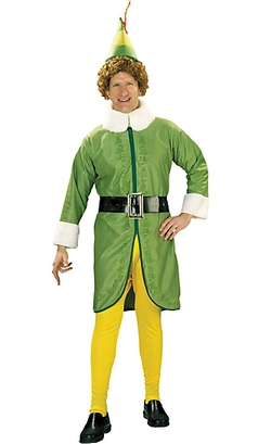 Party City - Adult Buddy The Elf Costume