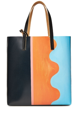 Marni - Colorblock Shopper Tote Bag