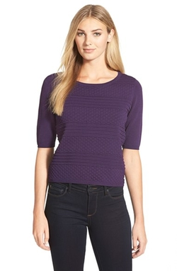 Ivanka Trump - Textured Knit Top