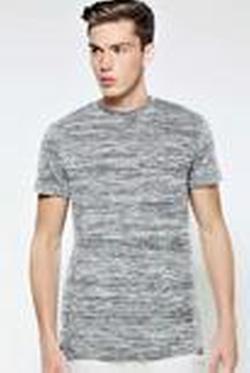 BooHooMan - Longline Stepped T Shirt