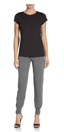 Adrienne Vittadini - Sweater-Knit Jog Pants