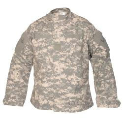 Tru-Spec  - TRU Nylon Cotton Rip Stop Army Combat Camo Uniform Shirt