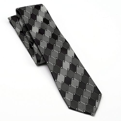 Kohls - Arrow Argyle Geometric Tie