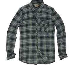 Jeremiah - Ansel Puckered Twill Plaid Shirt