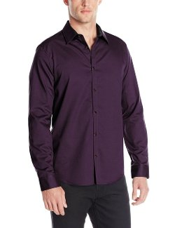 Calvin Klein - Sportswear Dobby Woven Button-Front Shirt