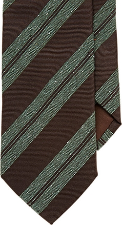 Bigi - Textured Stripe Neck Tie