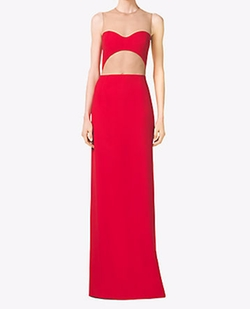 Michael Kors Collection - Bustier Illusion Double Crepe-Sable Gown