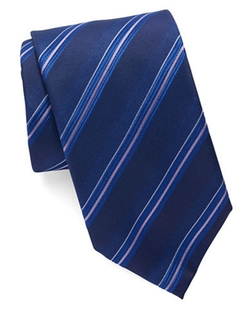 Hugo Boss  - Striped Silk Tie