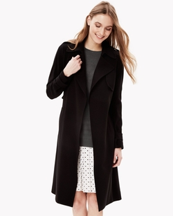 Theory - Soft Crepe Trench Coat