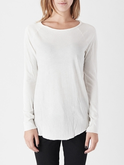 Cotton Citizen - Raw Edge Raglan Top