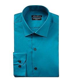 Kenneth Cole  - New York Slim-Fit Spread-Collar Dress Shirt