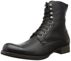 John Varvatos - Bonham Lace Boot Combat Boots