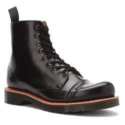 Dr. Martens  - Charlton 8-Eye Toe Cap Boots