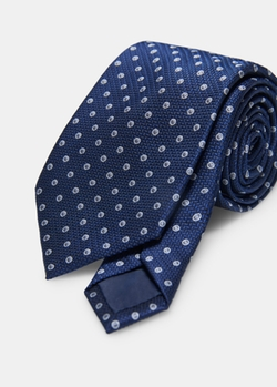 Mango - Polka-Dot Patterned Tie