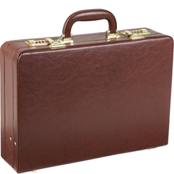 AmeriLeather - Executive Faux Leather Attache Case