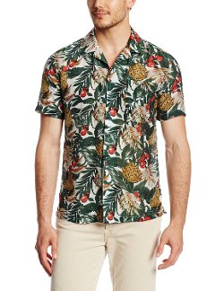 French Connection - Hawaiian Printed Woven Shirt