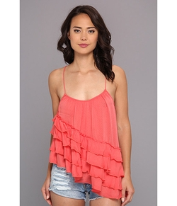 Free People - Solid Flutter By Top