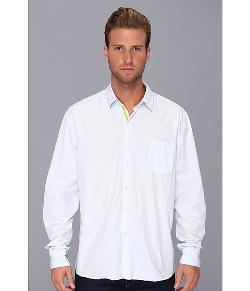 Arnold Zimberg  - Long Sleeve Single Pocket Button Down