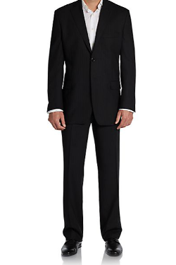 Yves Saint Laurent  - Regular-Fit Dotted Pinstriped Wool Suit