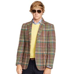 Ralph Lauren - Bedford Bold Plaid Sport Coat
