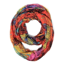 Scarfand - Oil Painting Print Infinity Scarf