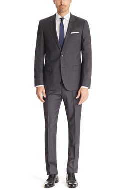 Hugo Boss - Huge/Genius Slim Fit Virgin Wool Suit