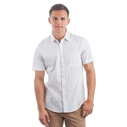 No Retreat - Short Sleeve Patterned Shirt